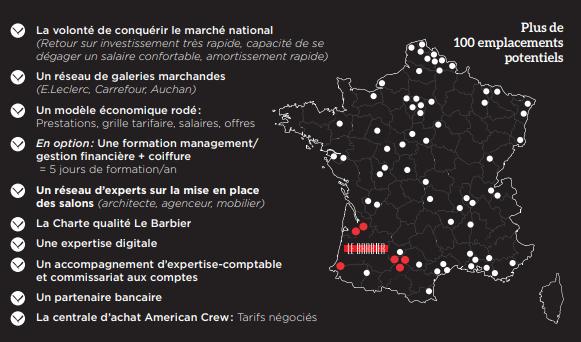 Carte Franchise Le Barbier